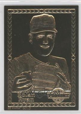 1992-93 ProMint 22K Gold - [Base] #NORY - Nolan Ryan