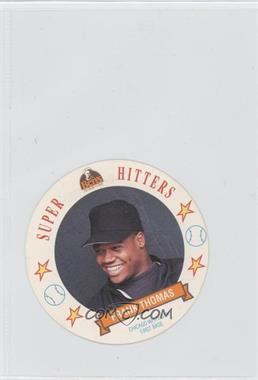 1992 Ben's Bread Super Hitters Discs - [Base] #11 - Frank Thomas