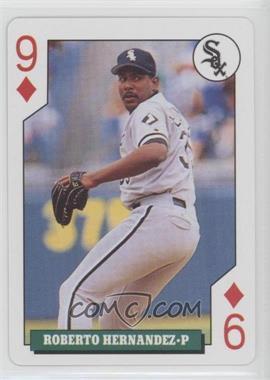 1992 Bicycle Baseball Rookies Playing Cards - Box Set [Base] #9D - Roberto Hernandez
