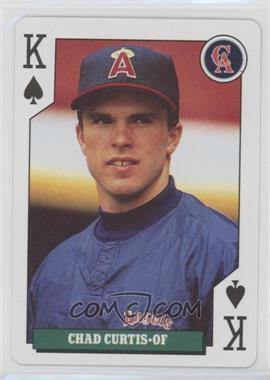 1992 Bicycle Baseball Rookies Playing Cards - Box Set [Base] #KS - Chad Curtis