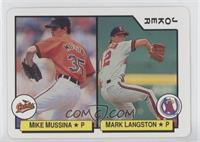 Mike Mussina, Mark Langston