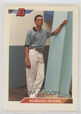 1992 Bowman - [Base] #302 - Mariano Rivera