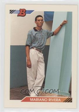 1992 Bowman - [Base] #302 - Mariano Rivera