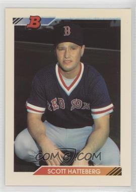 1992 Bowman Base 83 Scott Hatteberg