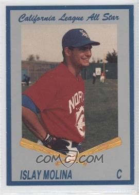 1992 Cal League California League All-Stars - [Base] #16 - Islay Molina