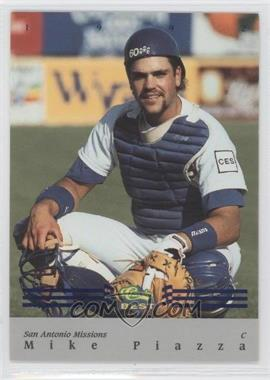 1992 Classic Best Minor League - Bonus Card - Blue #BC16 - Mike Piazza