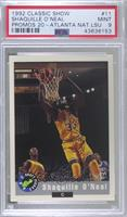 National Convention - Shaquille O'Neal 1992 Classic Draft Picks [PSA9&nbs…