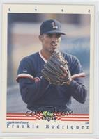 National Convention - Frankie Rodriguez 1992 Classic Best Minor League