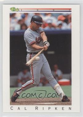 1992 Classic Update White Travel Edition - [Base] #T76 - Cal Ripken Jr.