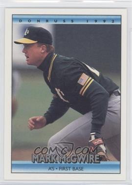 1992 Donruss - [Base] #348 - Mark McGwire