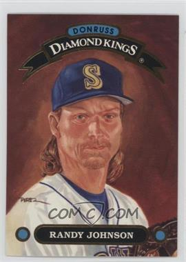 1992 Donruss - Diamond Kings #DK-22 - Randy Johnson