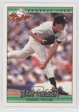 1992 Donruss The Rookies - [Base] #87 - Jerry Nielsen