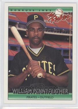 1992 Donruss The Rookies - [Base] #93 - Will Pennyfeather