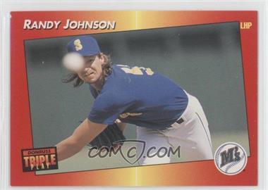 1992 Donruss Triple Play Base 71 Randy Johnson Comc Card