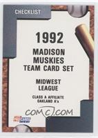 Madison Muskies Team