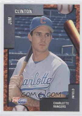 1992 Fleer Procards Minor League Base 22312 Jim Clinton