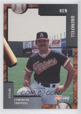 1992 Fleer ProCards Minor League - [Base] #3547 - Ken Oberkfell