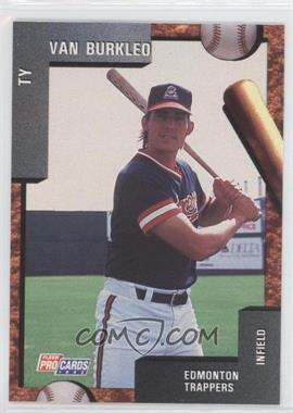 1992 Fleer ProCards Minor League - [Base] #3548 - Ty Van Burkleo