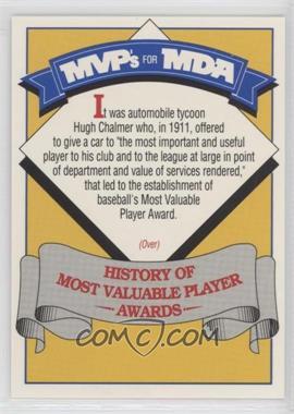 1992 mlb players alumni mvps for mda base 17 history of most