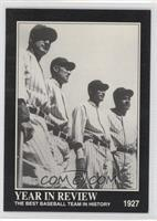 Babe Ruth, Lou Gehrig, Earle Combs, Tony Lazzeri