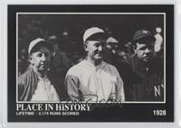 Babe Ruth, Eddie Collins, Ty Cobb