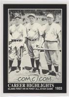 Babe Ruth, Lou Gehrig, Jimmie Foxx