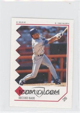 1992 Panini Album Stickers - [Base] #26 - Roberto Alomar