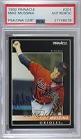 Mike Mussina [PSA/DNA Certified Encased]