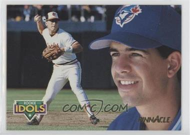 1992 Pinnacle - Rookie Idols #11 - Eddie Zosky, Cal Ripken Jr.