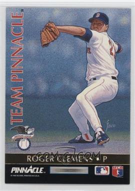 1992 Pinnacle - Team Pinnacle #1 - Ramon Martinez, Roger Clemens