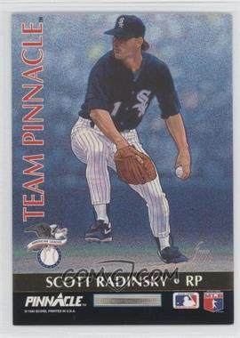 1992 Pinnacle - Team Pinnacle #12 - Scott Radinsky, John Franco