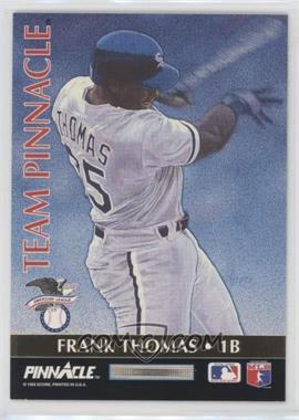 1992 Pinnacle - Team Pinnacle #4 - Frank Thomas, Will Clark