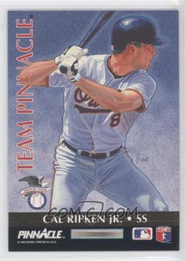 1992 Pinnacle - Team Pinnacle #7 - Cal Ripken Jr., Barry Larkin