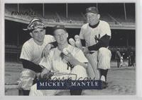Yogi Berra, Whitey Ford, Mickey Mantle