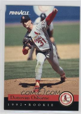 1992 Pinnacle Rookies - Box Set [Base] #20 - Donovan Osborne