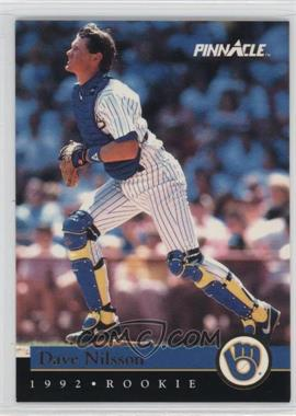 1992 Pinnacle Rookies - Box Set [Base] #27 - Dave Nilsson