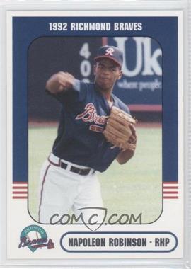 1992 Richmond Comix & Cardz Richmond Braves - [Base] #55 - Napoleon Robinson