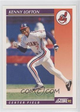 1992 Score Rookie & Traded - [Base] #14T - Kenny Lofton
