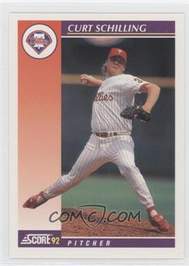 1992 Score Rookie & Traded - [Base] #25T - Curt Schilling