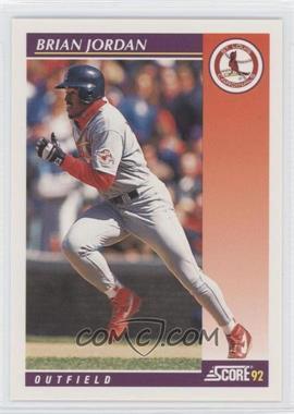 1992 Score Rookie & Traded - [Base] #83T - Brian Jordan