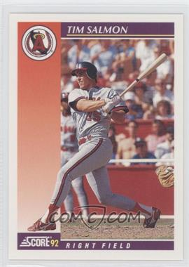 1992 Score Rookie & Traded - [Base] #93T - Tim Salmon