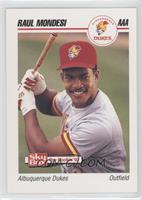 Albuquerque Dukes Baseball Cards Matching Raul Mondesi