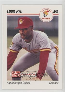 1992 SkyBox Pre-Rookie - Albuquerque Dukes #9 - Eddie Pye