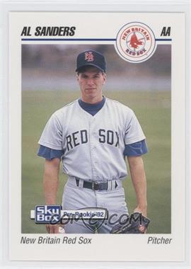 1992 SkyBox Pre-Rookie - New Britain Red Sox #495 - Al Sanders