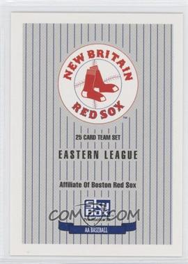 1992 SkyBox Pre-Rookie - New Britain Red Sox #N/A - New Britain Red Sox Team