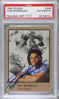 Ivan Rodriguez [PSA AUTHENTIC]