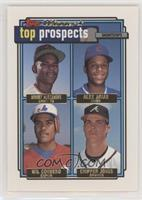 Manny Alexander, Alex Arias, Wil Cordero, Chipper Jones [EX to NM]