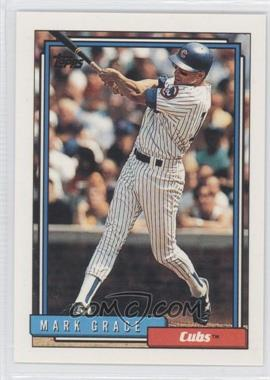 1992 Topps - [Base] #140 - Mark Grace
