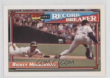 1992 Topps - [Base] #2 - Rickey Henderson
