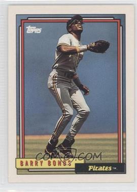 1992 Topps - [Base] #380 - Barry Bonds